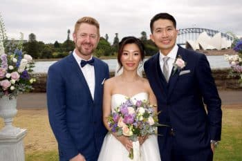 Christine and Isaac - Sydney Marriage Celebrant Stephen Lee
