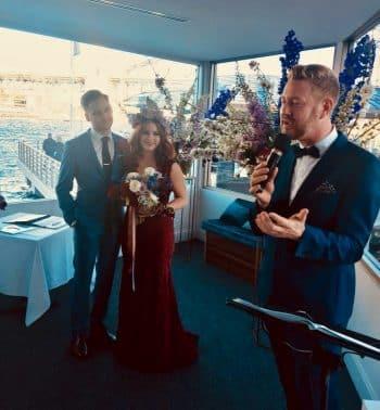 Ash and Ali - Sydney Marriage Celebrant Stephen Lee