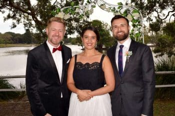Slav and Sarra - Sydney Marriage Celebrant Stephen Lee