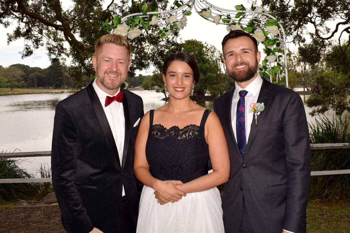 Slav and Sarra - Sydney Marriage Celebrant Stephen Lee