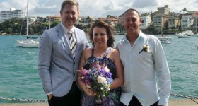 Young Marriage Celebrant Sydney - Male Marriage Celebrant Sydney - Modern Marriage Celebrant Sydney - Wedding by Stephen Lee - Little Manly Point