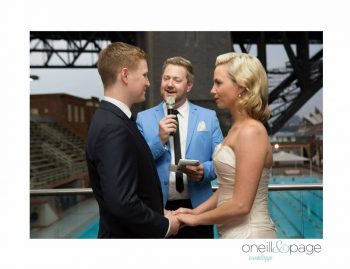 Young Sydney Marriage Celebrant - Male Marriage Celebrant Sydney - Modern Marriage Celebrant Sydney - Wedding by Stephen Lee - Aqua Dining