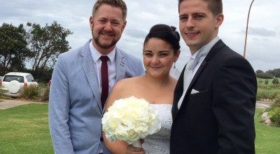 Young Sydney Marriage Celebrant - Male Marriage Celebrant Sydney - Modern Marriage Celebrant Sydney - Wedding by Stephen Lee - Collaroy