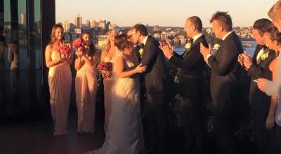 Haytham and Kat - Stephen Lee Young Male Sydney Marriage Celebrant - Wedding at Sydney MCA