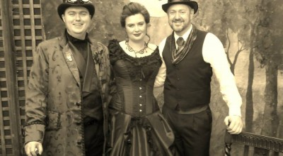 Jon and Nou's Steampunk Wedding - Young Male Marriage Celebrant - Wedding by Stephen Lee