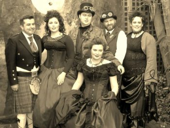 Steampunk Wedding - Young Male Marriage Celebrant Stephen Lee