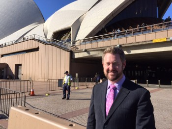 Young Sydney Marriage Celebrant - Male Marriage Celebrant Sydney - Modern Marriage Celebrant Sydney - Wedding by Stephen Lee - Sydney Opera House