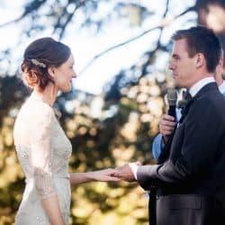 Mark and Emily's Bendooley Estate Berrima Wedding - Young Male Sydney Marriage Celebrant Stephen Lee