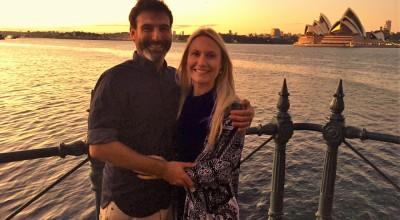 Joe and Cathy's Sunrise Wedding - Young Male Sydney Marriage Celebrant Stephen Lee