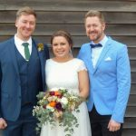 Dom and Sandy's wedding at Bella Vista Farm - Young Male Sydney Marriage Celebrant Stephen Lee