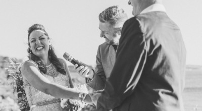 Jacquie and Paul's wedding at Q Station Manly - Stephen Lee Young Male Sydney Marriage Celebrant - Image by Sarkodie Photography