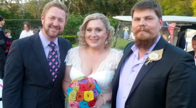 Gareth and Kate - Young Male Sydney Marriage Celebrant Stephen Lee - Wedding at Avondale Golf Club Pymble