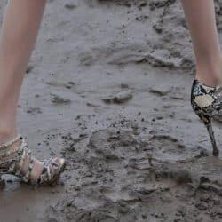 Muddy Heels Wet Weather Wedding