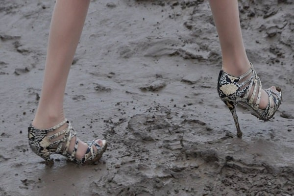 Muddy Heels Wet Weather Wedding