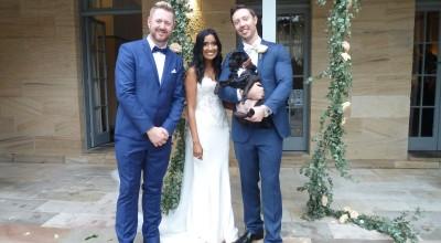 Pug Wedding at Gunners Barracks- Stephen Lee Young Male Sydney Marriage Celebrant