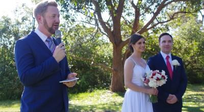 Barry and Amanda marry at Athol Hall, Mosman - Stephen Lee Modern Male Sydney Marriage Celebrant