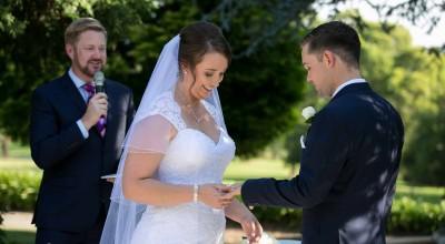 Lauren and Michael's Wedding at Oatlands House - Stephen Lee Modern Male Sydney Marriage Celebrant