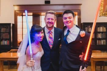 Sydney Marriage Celebrant Stephen Lee - Young Modern Male