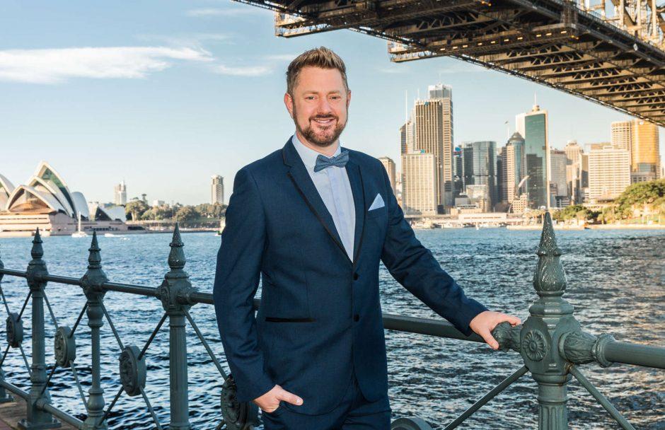 Sydney Marriage Celebrant Stephen Lee - Bridge