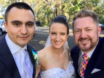 James and Renee married at Springfield House Dural by Marriage Celebrant Sydney Stephen Lee