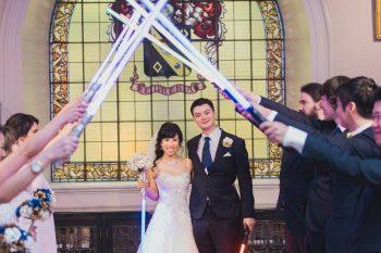 Star Wars Wedding Lightsaber Guard of Honour - Marriage Celebrant Sydney Stephen Lee