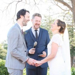 Dan and Helen's Manly Wedding - Marriage Celebrant Sydney Stephen Lee