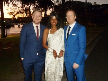 David and Komi Dunbar House Wedding - Marriage Celebrant Sydney Stephen Lee
