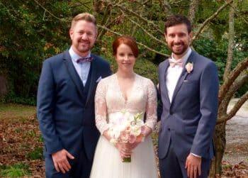 Prue and Jay Summerlees Wedding - Marriage Celebrant Sydney Stephen Lee