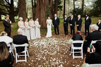 HD Woodland Wedding - Sydney Marriage Celebrant Stephen Lee