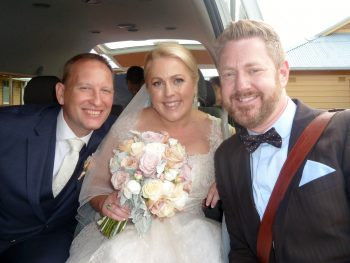 Michael and Kylie Wedding at Q Station Manly - Sydney Marriage Celebrant Stephen Lee