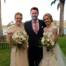 Candice and Nic - Sydney Same Sex Celebrant Stephen Lee