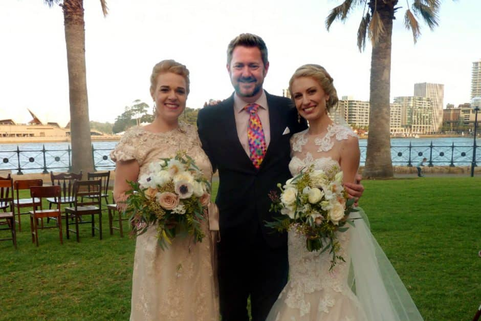 Candice and Nic - Sydney Same Sex Celebrant Stephen Lee