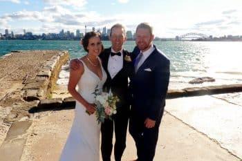 HERO Chris and Hannah - Marriage Celebrant Sydney Stephen Lee
