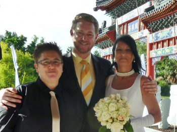 Rhonda and Sam - Sydney Same Sex Celebrant Stephen Lee