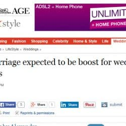 The Age - Sydney Same Sex Celebrant Stephen Lee