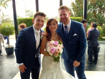 Jonathan and Yanny marry at Le Montage - Marriage Celebrant Sydney Stephen Lee