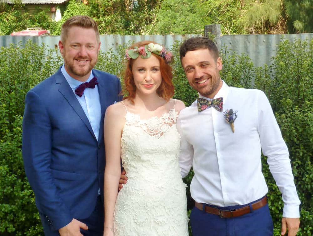 Dion and Adele - Marriage Celebrant Sydney Stephen Lee