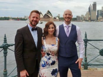 Kyle and Flora - Sydney Marriage Celebrant Stephen Lee