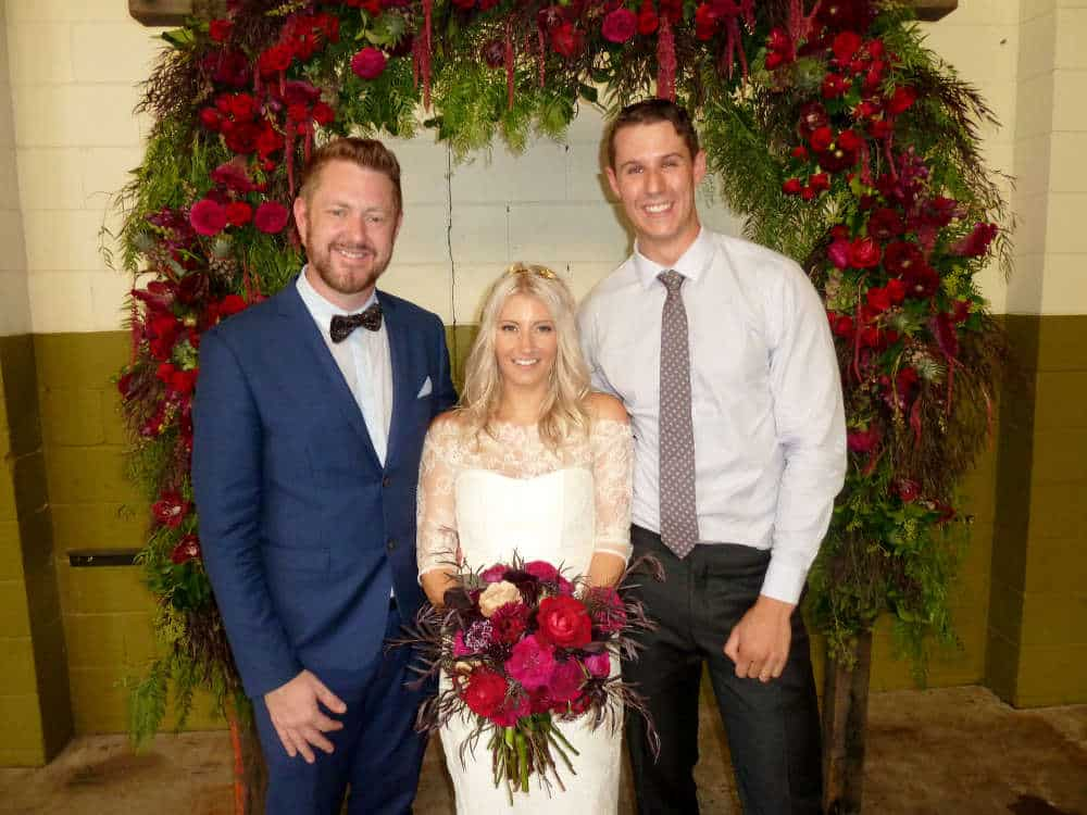 Lucy and Joel at The Edwards Newcastle - Marriage Celebrant Sydney Stephen Lee