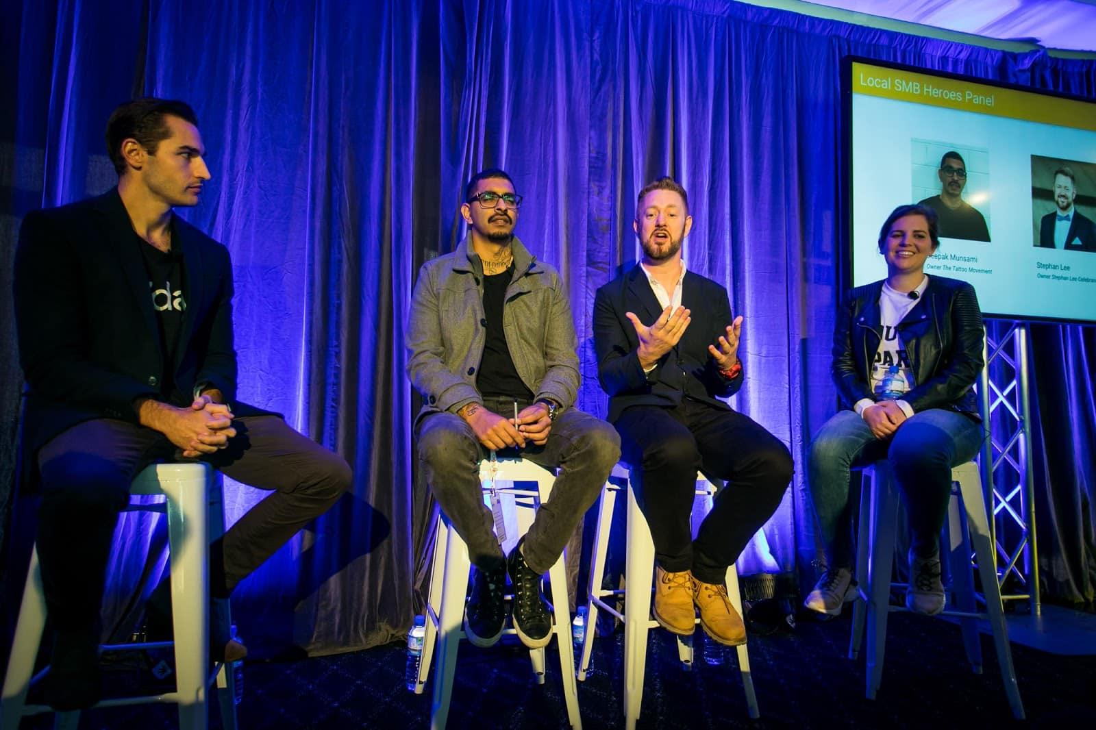 Sydney Marriage Celebrant Stephen Lee speaks at the Google Australia Digital Garage event