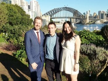 Andreas and Jiaxin - Sydney Marriage Celebrant Stephen Lee - Wedding at Clark Park