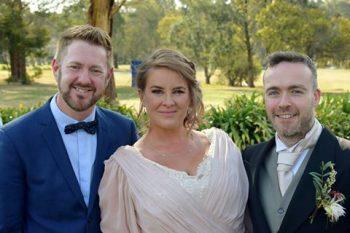 Shae and Simon Sylvan Glen Wedding - Sydney Marriage Celebrant Stephen Lee