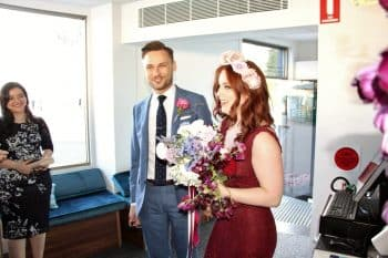 Ash and Ali - Sydney Marriage Celebrant Stephen Lee