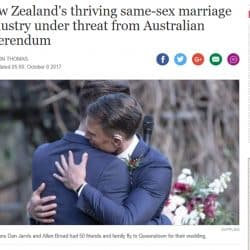Stuff NZ Same Sex Marriage - Sydney Marriage Celebrant Stephen Lee