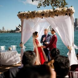 Sydney Harbour Wedding - Stephen Lee Sydney Marriage Celebrant