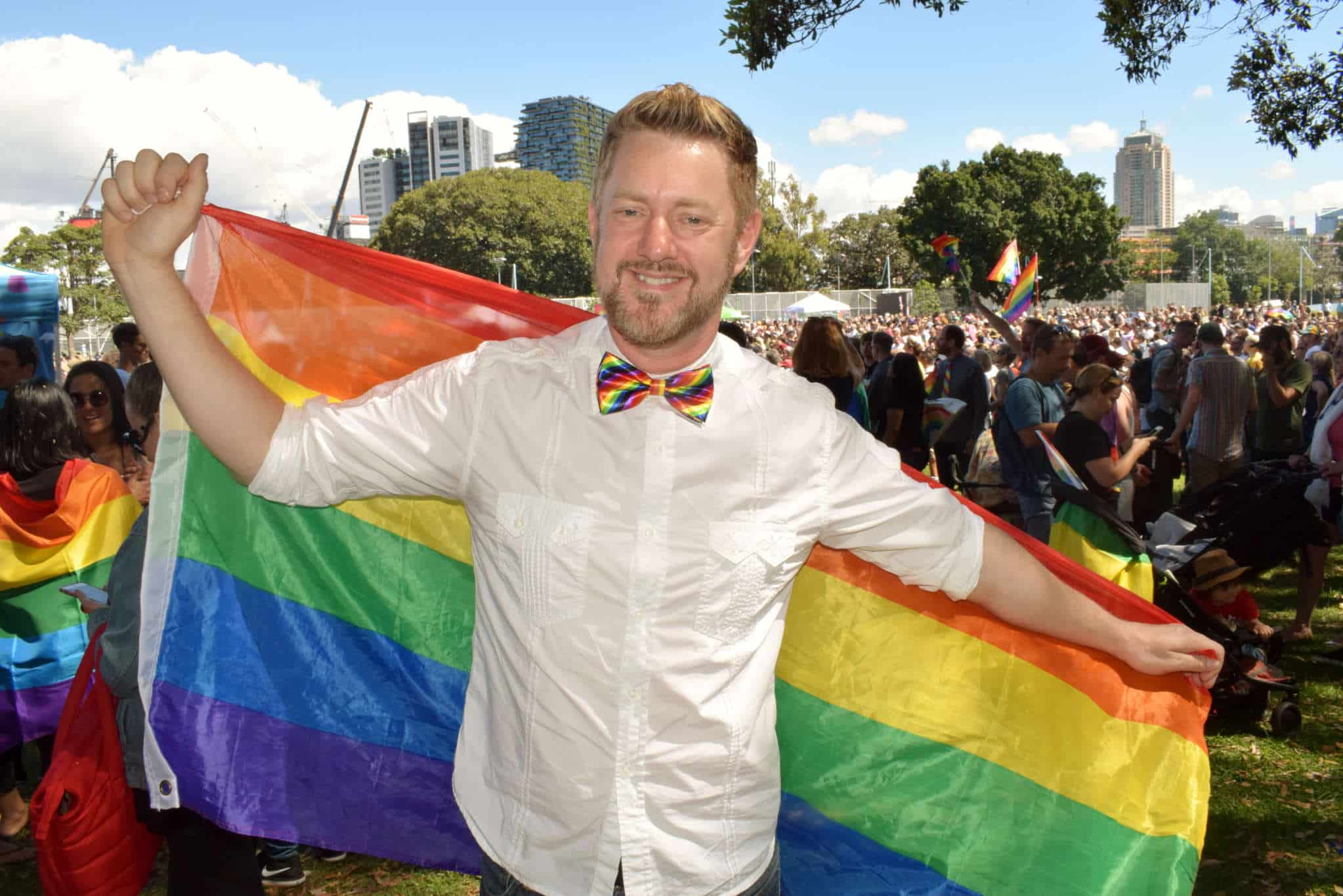 Stephen Lee Same Sex Male Marriage Celebrant Sydney