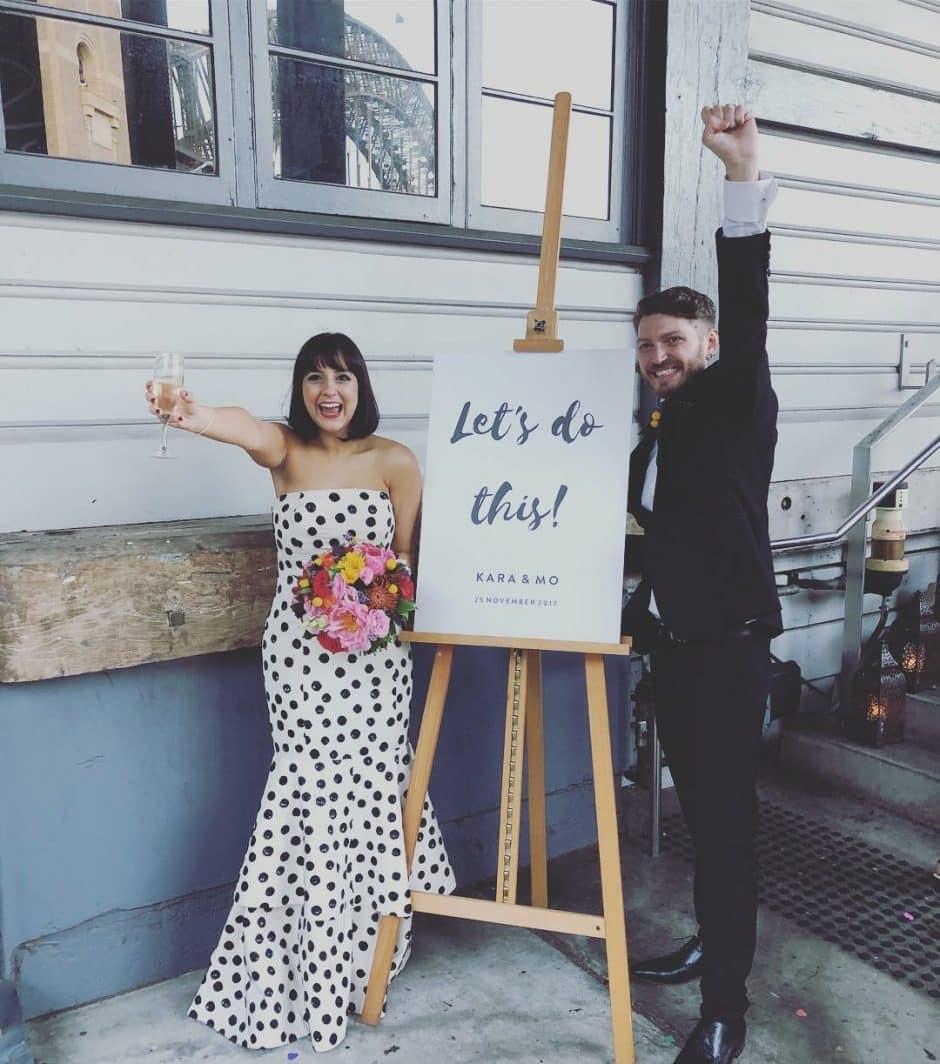 Kara and Mo Wedding - Stephen Lee Sydney Marriage Celebrant