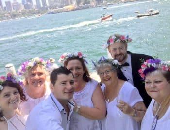 ran and Kerrie - Sydney Marriage Celebrant Stephen Lee
