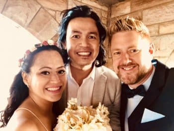 Marianne and Ryan - Sydney Marriage Celebrant Stephen Lee