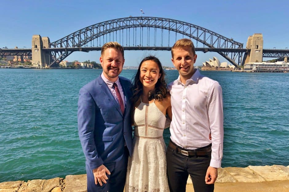 Blues Point Wedding - Kiss Me Quick Wedding - easy simple small afforable - cheaper than Registry or Courthouse - Sydney Marriage Celebrant Stephen Lee